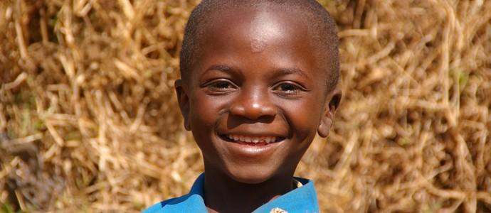 Cameroon schoolchild
