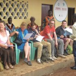 BSFA trustees and supporters at the opening of GTC Kale-Kittiwum