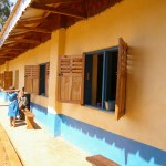 GS Achaillam 2008. When we built 2 classrooms, the government added another 2.