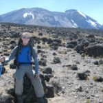 Harry Ford climbed Mt Kilimanjaro for BSFA
