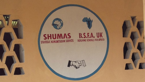 SHUMAS BSFA logos