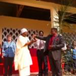 Opening of Abang school