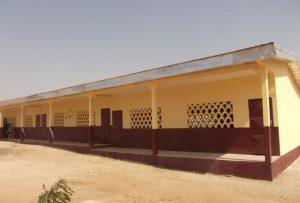 New classrooms replace straw huts at Mayel Ibbe