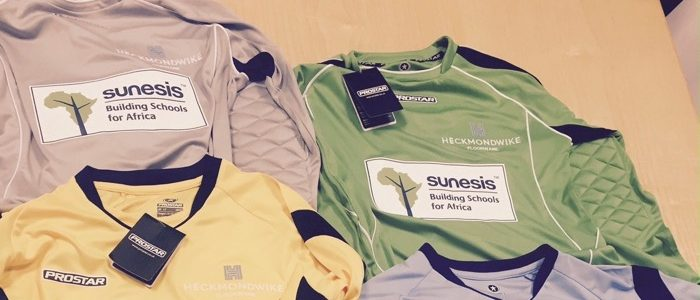sunesis football shirts