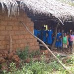 Half the wall missing, no windows, no desks at GS Mbande