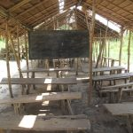 The construction of 3 classrooms and an office will start soon at this school, EP Bapes Mondial