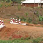 New bridge built in 2015 to help children get to school