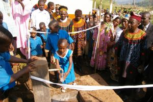 Clean drinking water at GS Fungeh
