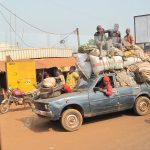 A common site - overladen cars